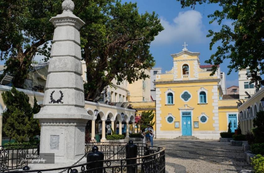 路環市區 - 聖方濟各聖堂 Chapel of St. Francis Xavier