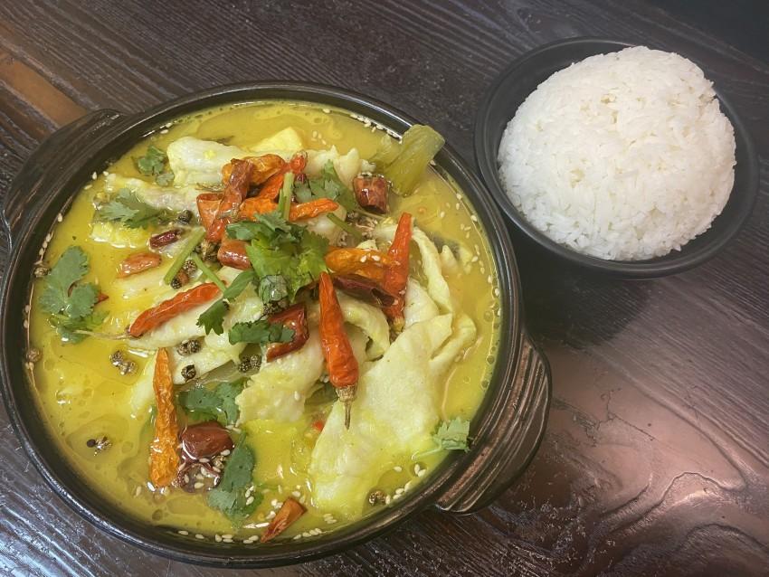 毛血旺/酸菜鱸魚/肥牛酸辣粉(天香園川湘菜館)