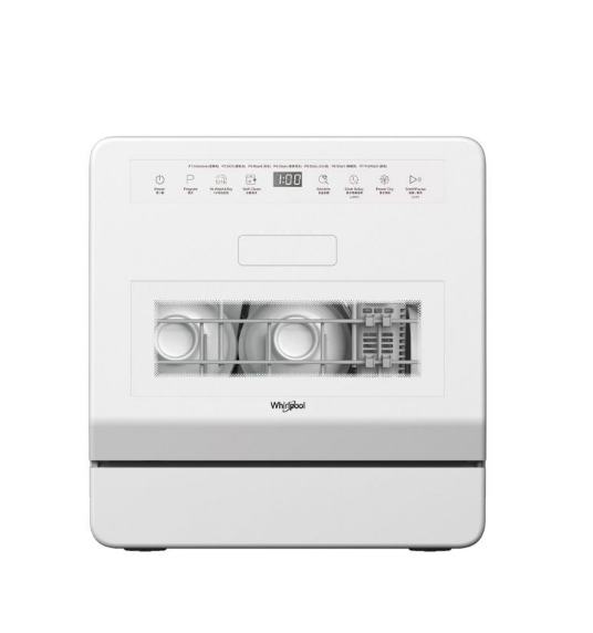 Whirlpool 惠而浦 小型座枱式洗碗碟機 WCTD104HK  