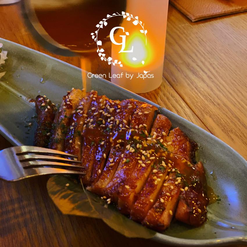 【green leaf by japas】綠葉雙人晚餐套餐憑券特價$527 到店付款 (原價: $657.8)