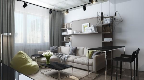 漂亮的小戶型公寓設計