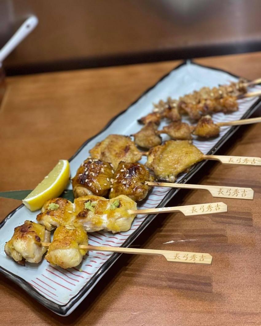 【長弓秀吉】麒麟啤酒燒鳥套餐憑券特價$328 到店付款 (原價: $422)