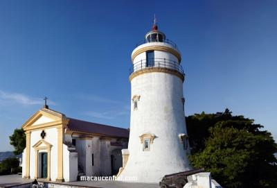 東望洋燈塔 (包括聖母雪地殿聖堂及燈塔) Guia Fortress (Including Guia Chapel and Lighthouse)
