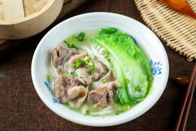 藥膳崩沙刀切麺/酸菜排骨蒸飯/蟹子燒麥皇(良品美食)