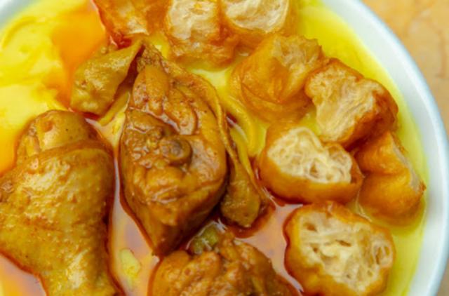 緬甸椰汁雞面/河 (雅馨緬甸餐廳)
