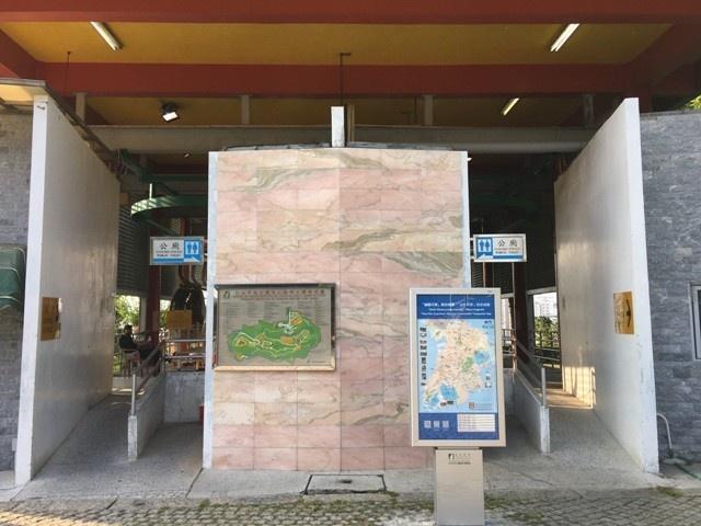 JM18 地厘古工程師馬路, 松山巿政公園公廁