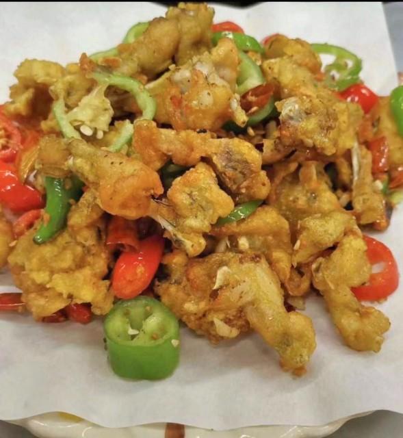 水煮午餐肉肥牛 / 椒鹽田雞 / 烤魚(正宗林記酸辣粉)