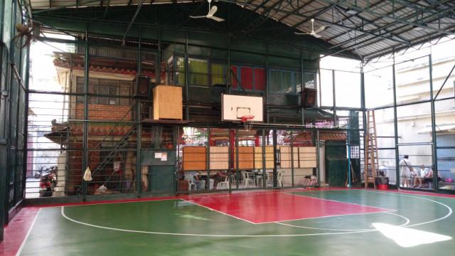 新橋籃球場